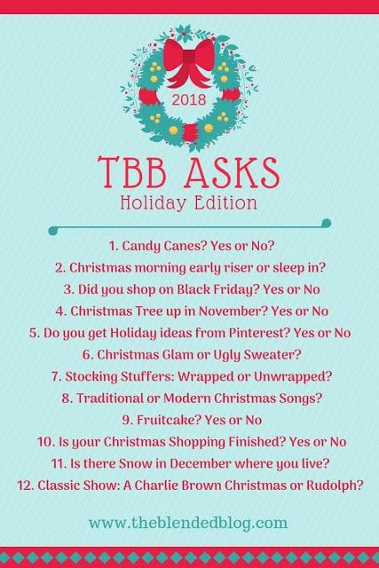 TBB Asks - December 2018