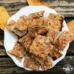 Pecan Pie Bars - an easy dessert to throw together for a Thanksgiving, Christmas, or even a potluck dinner.