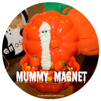 Mummy Magnet - Fun Halloween Craft
