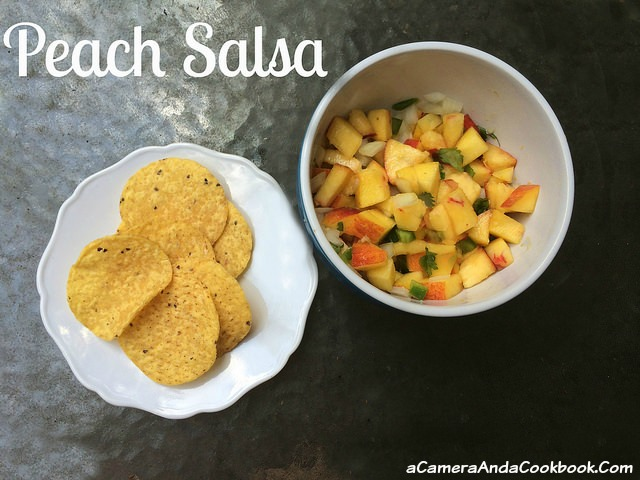 Looking for a use for all the extra peaches you have left?  This Peach Salsa is a great remedy for that issue.  You will buy more peaches just so you can make more of this yummy twist on salsa.