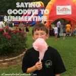 Saying Goodbye To Summertime