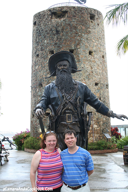 Visiting Pirates of the Caribbean; home of Blackbeard
