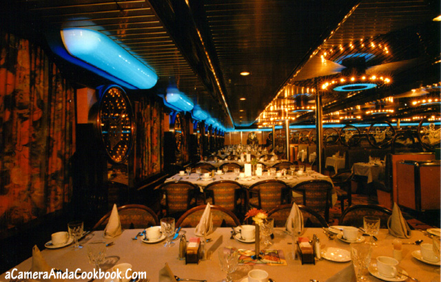 Dining Room on the Carnival Sensation