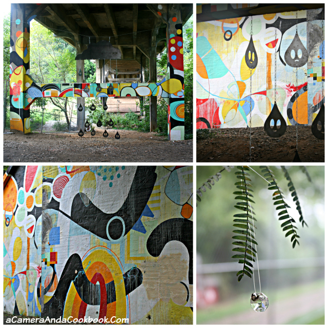 Graffiti under Park Drive Bridge at Piedmont Park Atlanta, GA