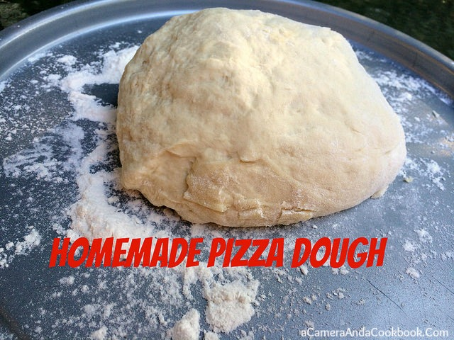 Homemade Pizza Dough {Bread Machine}