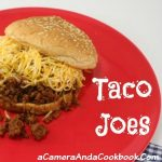 Taco Joes - Ever wanted tacos, but didn't have any tortillas in the pantry? Here's an easy recipe to remedy that situation/craving!