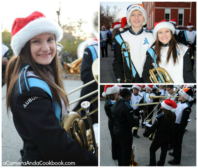 Does your town have a Christmas Parade?  Auburn's parade always brings great joy to the Auburn family.
