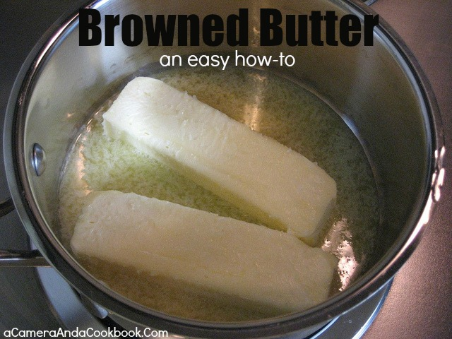 Browned Butter {An easy how-to}