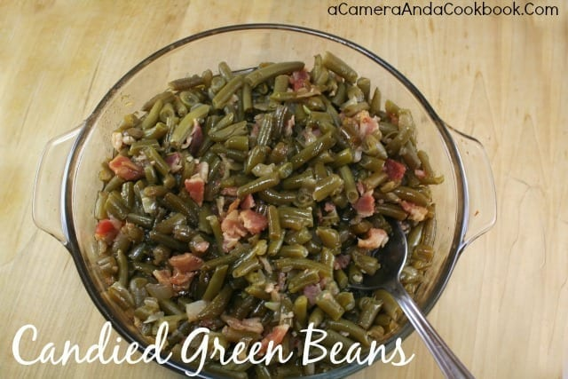 Candied Green Beans - These candied green beans are amazing.  A must try!