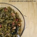 Candied Green Beans