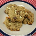 Cranberry White Chocolate Chip Oatmeal Cookies