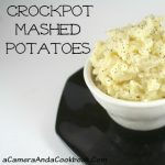 Easy! Crockpot Mashed Potatoes - save time and still be able to enjoy this favorite comfort food!