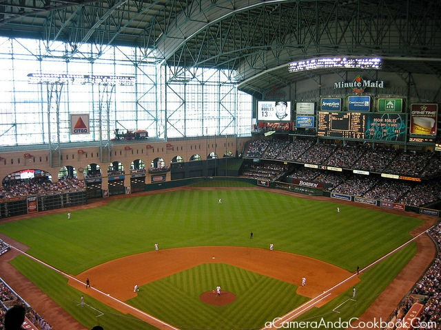 Minute Maid Park Houston Tx A Camera And A Cookbook