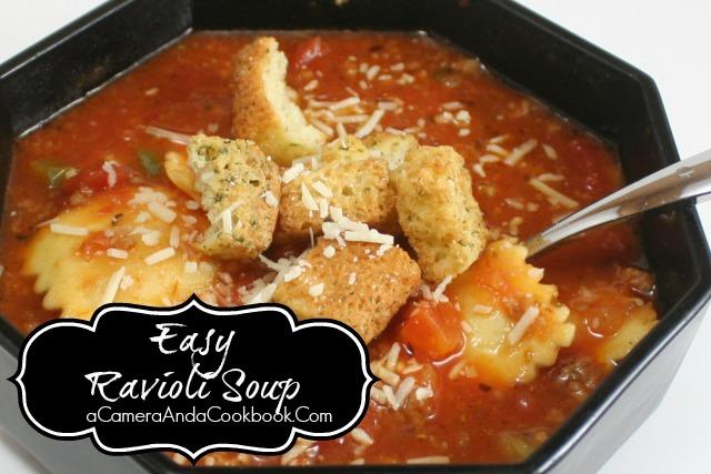 Raviolo Soup