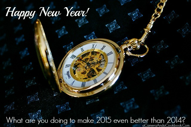 Making New Year's Resolutions!