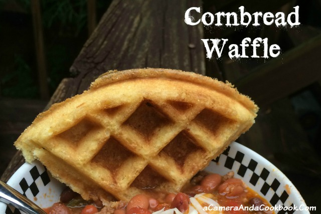Cornbread Waffles - Need an alternative to cornbread? These cornbread waffles are great because you can pop them in the waffle iron, not needing to heat the oven.