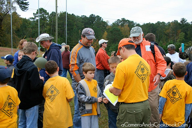 Fall Family Camp with Cub Scouts