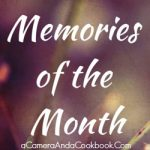 Memories of the Month - Taking time to document the important memories from January.