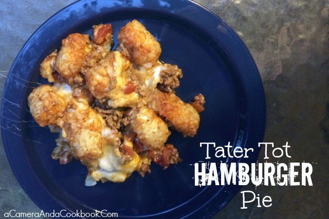 Tater Tot Hamburger Pie