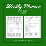 Looking for an easy way to keep up with your daily tasks? This 2 sided printable is a great tool to do just that!
