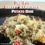 Cheesy Hamburger Potato One-Pot Dish