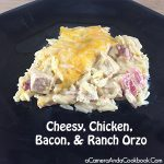 Cheesy, Chicken, Bacon, and Ranch Orzo