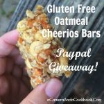 Gluten-Free Oatmeal Cheerio Bars & Paypal Giveaway
