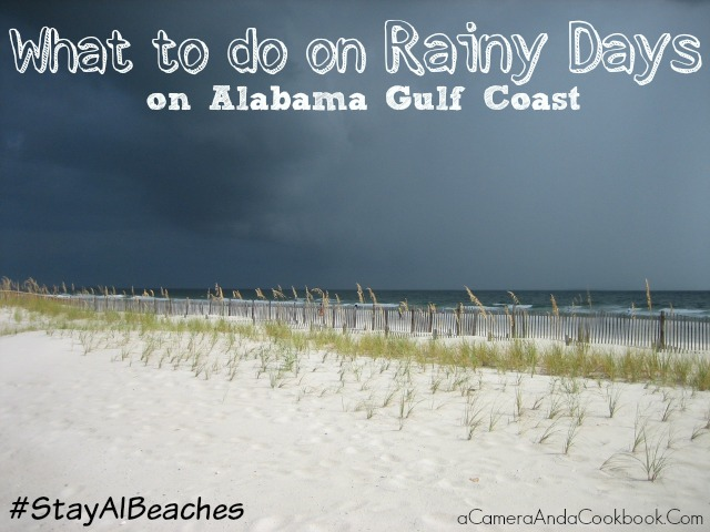 Visit Alabama Beaches even if it's Raining