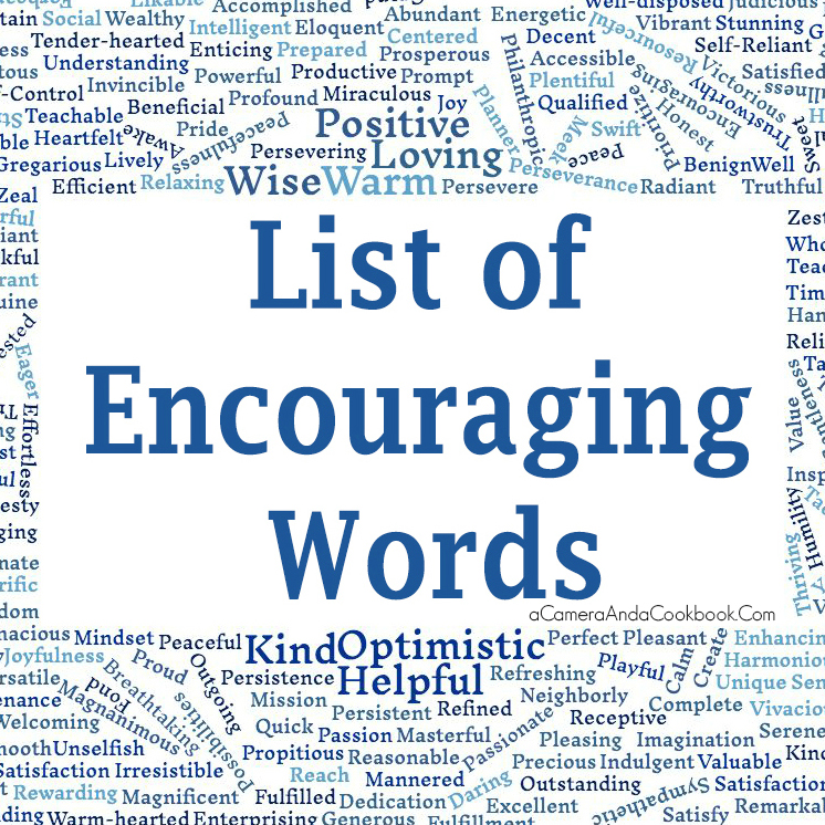a word of encouragement How to use encouragement in a sentence example sentences with the word encouragement encouragement example sentences.