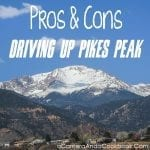 Pros & Cons to Driving p Pikes Peak