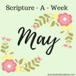 May Scripture-A-Week