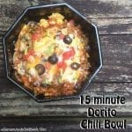 Dorito Chili Bowl - Ready in 15 minutes!