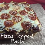 Pizza Topped Pasta