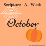 October Scripture-A-Week