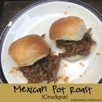 Mexican Pot Roast - Crockpot