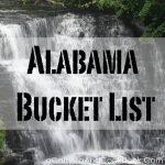 Alabama Bucket List
