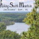 Hiking Smith Mountain - Jacksons' Gap, AL
