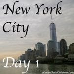 New York City - Day 1