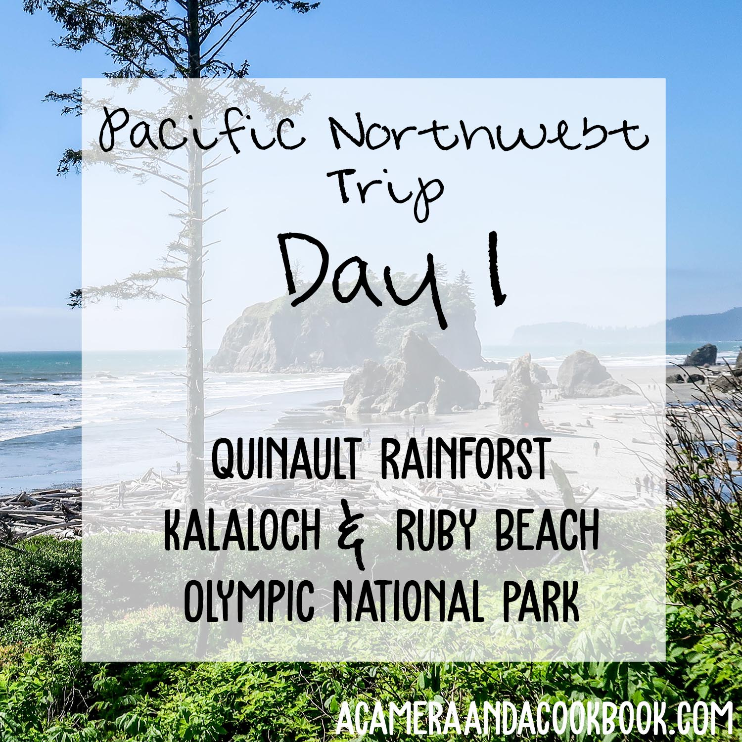 Pacific NW Trip: Day 1