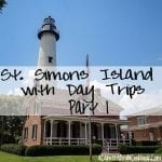 Thinking of a trip to St. Simons Island Trip soon? Check out this post to see what to do not only in St. Simons but what day trips you can take from there!