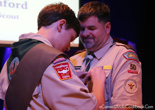 Eagle Scout Ceremony
