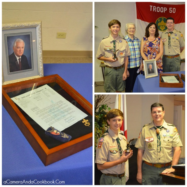 James Baird Honor Scout Award