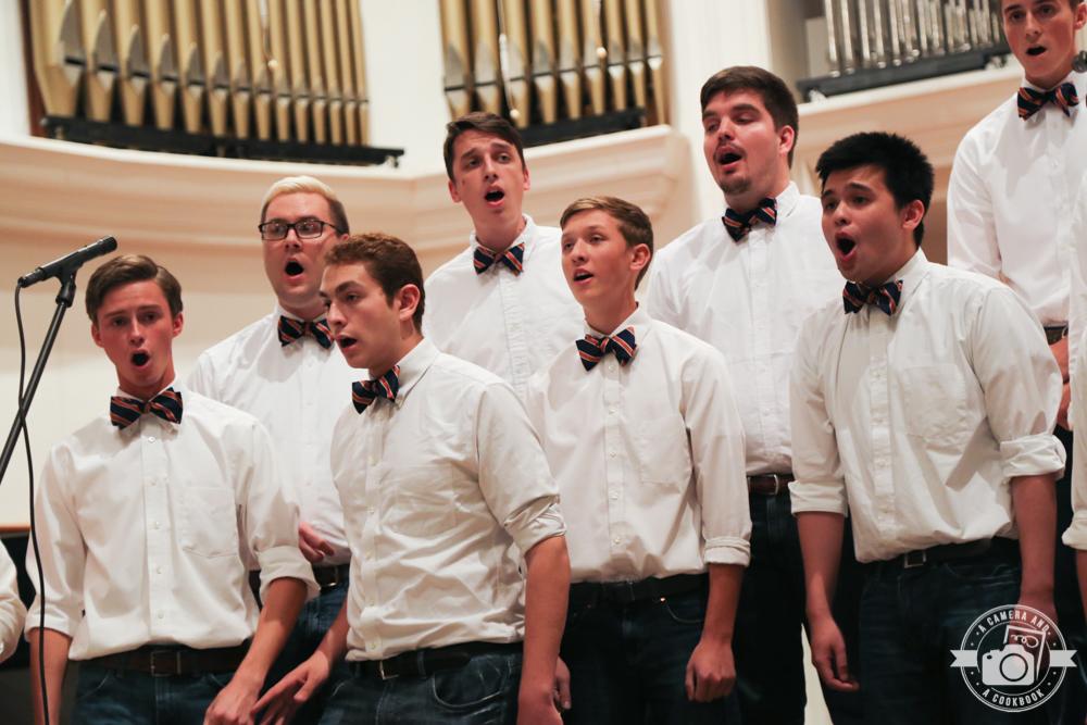 AU Cappella Fall Concert