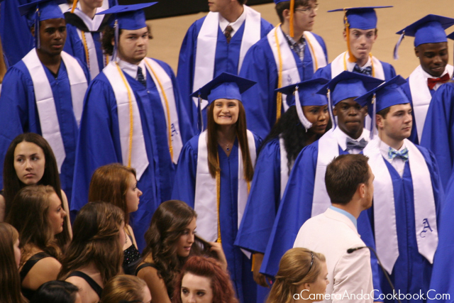 Caitlyn at AHS Graduation