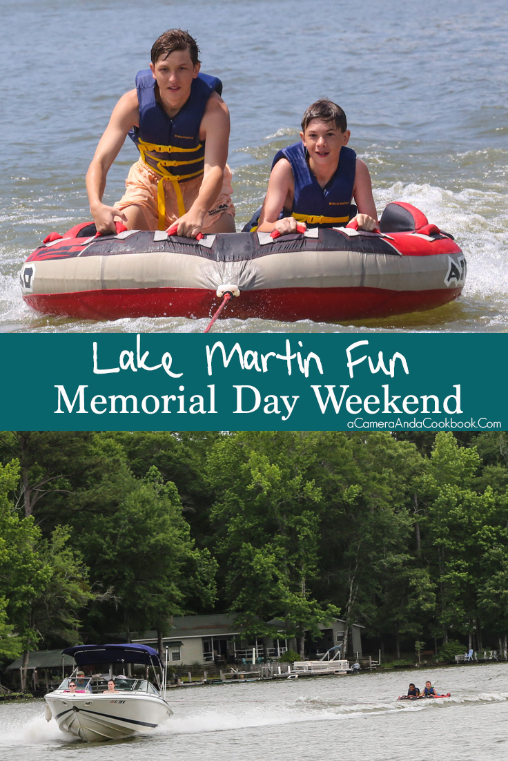 Memorial Day Weekend at Lake Martin 2017