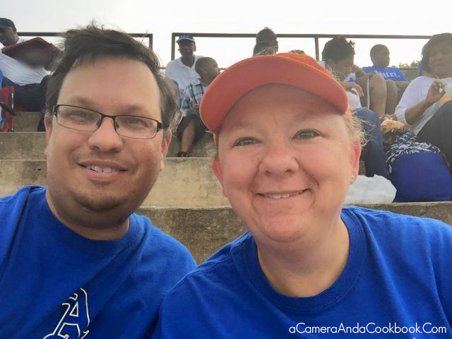Rob and Me at the Auburn Opelika Game August 28, 2015