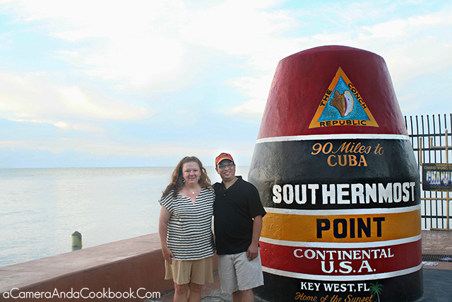 Rob and Me on New Year's Eve Day 2014 in Key West Florida