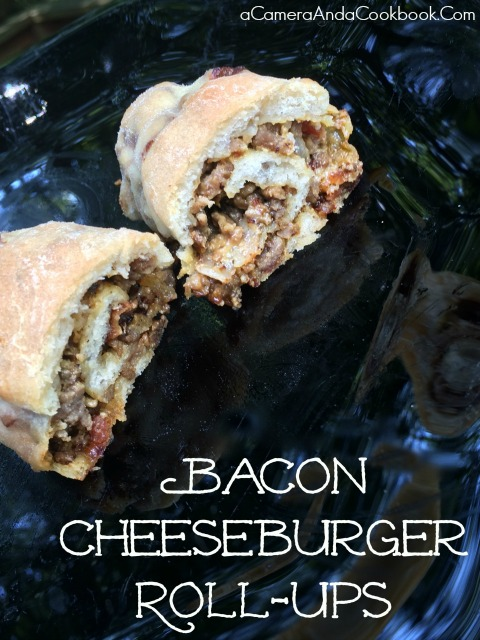 Bacon Cheeseburger Roll-Up Recipe