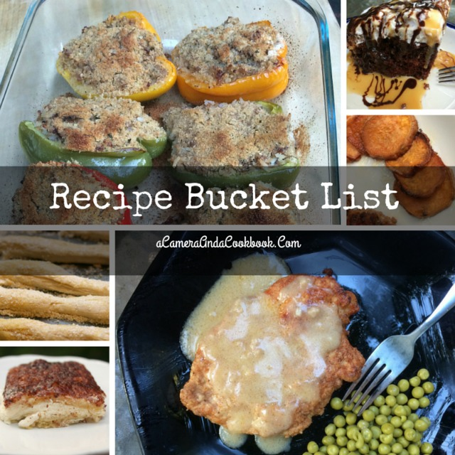 Recipe Bucket List