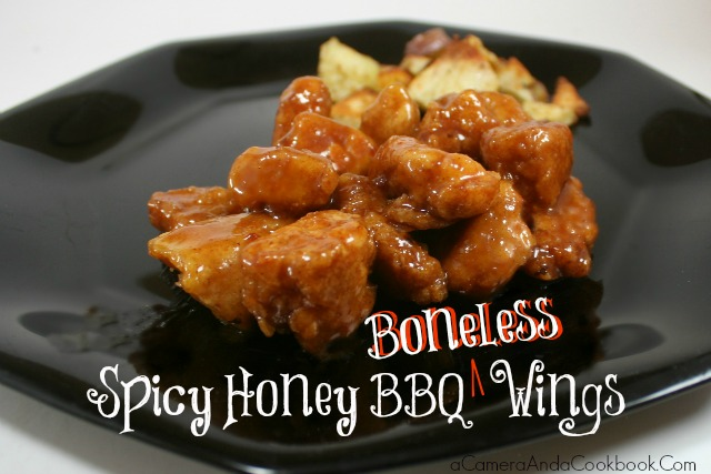 This is a true family favorite. You gotta try these Spicy Honey BBQ Wings!